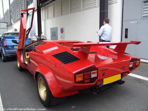 Photos du jour : Lamborghini Countach 5000 Quattrovalvole