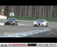La vidéo du jour : Bugatti Veyron versus McLaren Mercedes SLR