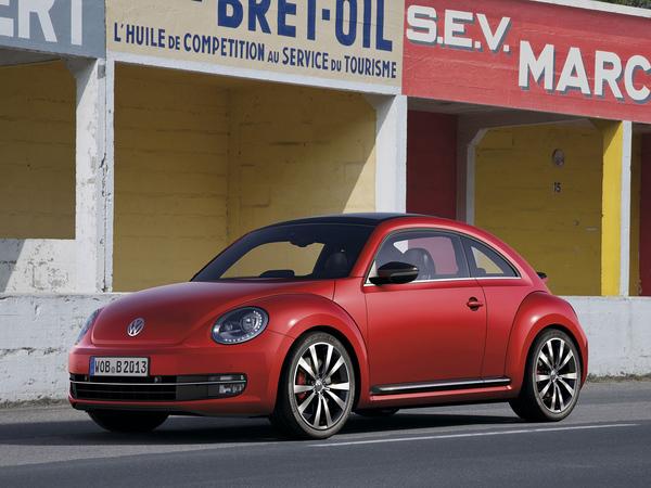 Une VW Beetle R dans les tuyaux
