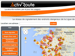 Activ'Route, pour signaler les incohérences et les dangers rencontrés sur la route