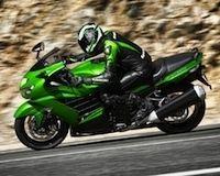 Kawasaki, nouveauté 2012: ZZR 1400