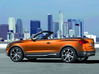L'Audi Q5 pourrait se découvrir...