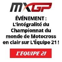 TV : la saison de MXGP en clair sur l'Equipe 21