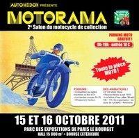 Le 11ème Salon Automedon présente le 2ème Motorama au Bourget les 15 et 16 octobre 2011.