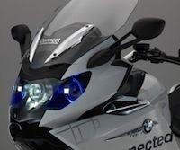 BMW Motorrad: éclairage laser sur une K1600 GTL