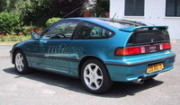 La p'tite sportive du lundi: Honda CRX Vtec.