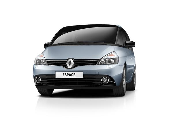 Renault Espace restylés: les tarifs