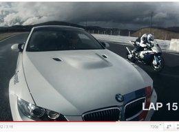 [vidéo] BMW M3 vs BMW RR, auto contre moto, qui est le plus rapide ?