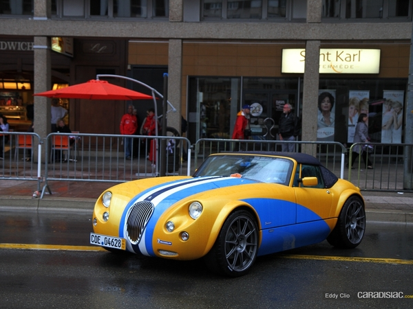 Photos du jour : Wiesmann MF3 Roadster (Parade des Pilotes)