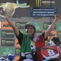 WMX - Matterley Basin : Kiara Fontanesi championne du monde 2012