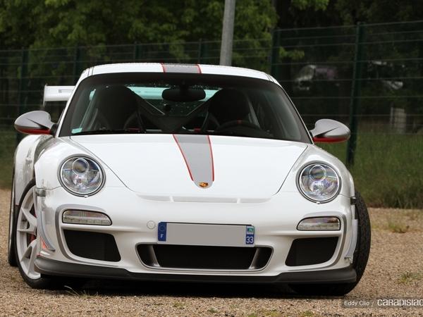 Photos du jour : Porsche 911 997 GT3 RS 4.0 (Cars & Coffee Paris)