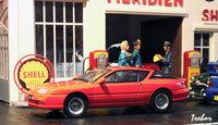Miniature : 1/43ème - ALPINE GTA V6 GT Turbo Le mans