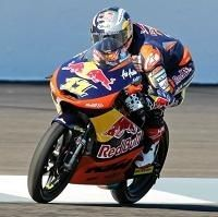 Moto 3 - Indianapolis Qualifications: Sandro Cortese au drapeau rouge avec la moto orange