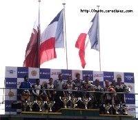 24 h du Mans 2008 en direct - Le podium Superstock