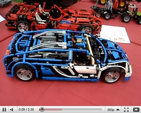 Bugatti Veyron En Lego Technic Elle A Tout De La Grande