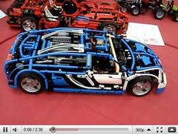 Bugatti Veyron en Lego Technic : elle a tout de la grande