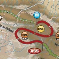 Dakar - étape 8 : le parcours du jour