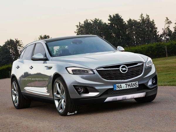 Futur SUV Opel : comme ça ?