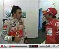 GP d'Europe: Massa & Alonso, ce qu'ils se sont dits [MAJ texte et vidéo]