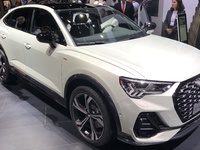 Audi Q3 Sportback: stylé et pratique - Vidéo en direct du salon de Francfort 2019