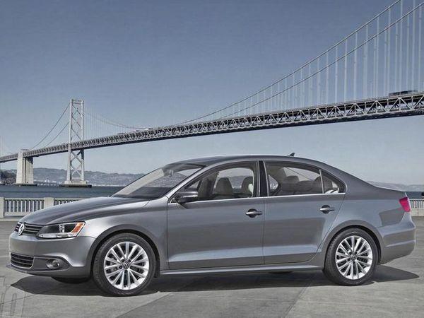 Nouvelle VW Jetta en avance