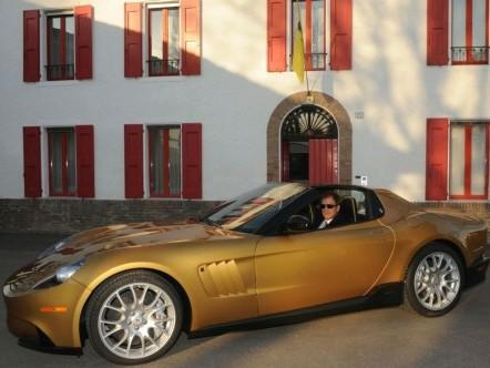 Une nouvelle Ferrari unique en préparation: la Super America 45