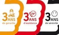 Quadro 350S: 3 ans de garantie et d'assistance pour 99 euros