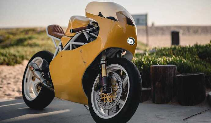 La Ducati 998 revue façon néo-rétro!