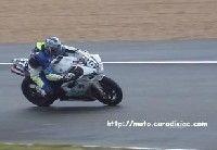 24 h du Mans 2008 en direct - Fabien Fabre victime d'une chute dans la soirée