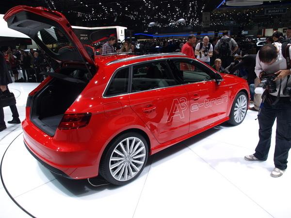 Audi lance la production de l'A3 Sportback e-tron