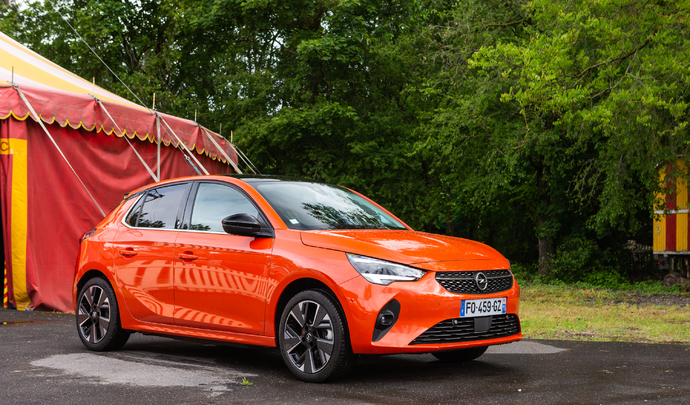 Opel Corsa e : la première Corsa électrique - Salon Caradisiac Electrique/Hybride 2021