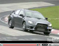 Mitsubishi EVO X en détails et en vidéo