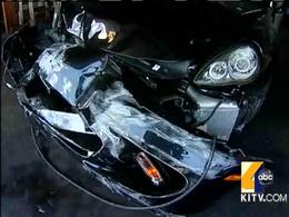 La Porsche Panamera Turbo de Kanye West détruite à Honolulu
