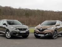 Comparatif vidéo - Peugeot 3008 vs Renault Kadjar: la french touch