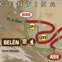 Dakar - étape 9 : le parcours du jour