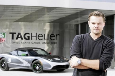 Tesla Roadster Tag Heuer : sa mission ? un tour du monde avec Di Caprio en premier pilote