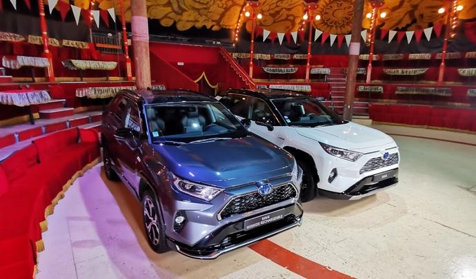 Toyota Rav4 et Toyota Rav4 PHEV : deux saveurs - Salon Caradisiac Electrique/Hybride 2021