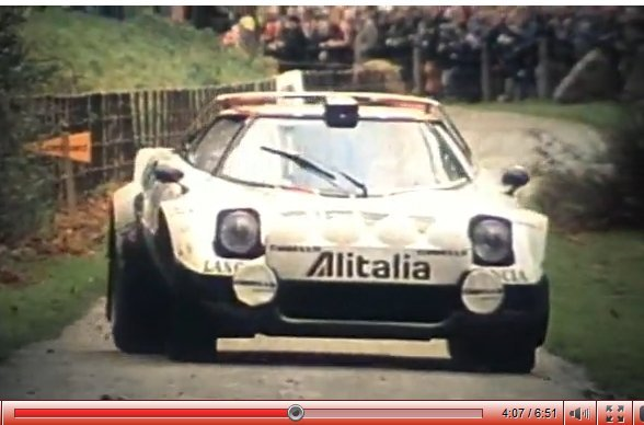 [vidéo] les divas ne meurent jamais : la Lancia Stratos chante