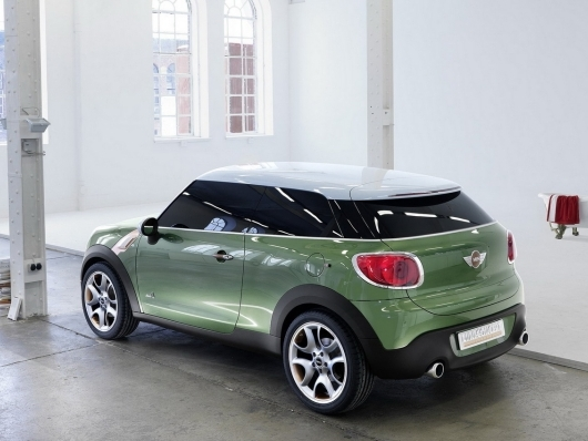 La future Mini Countryman coupé s'appellera Paceman!