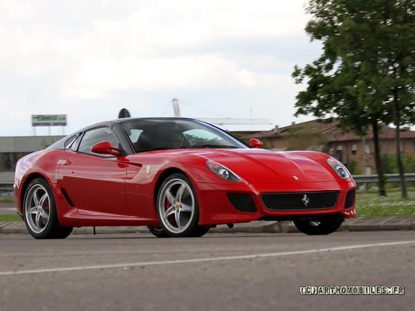 Ferrari 599 Spider : encore elle ?