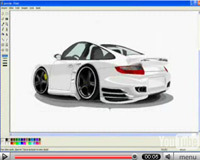 Les vidéos du jour : dessiner une voiture sous Paint. Acte 2, 3 et 4