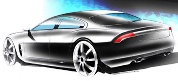 """Jaguar prépare un """"coupé 4 portes"""""""