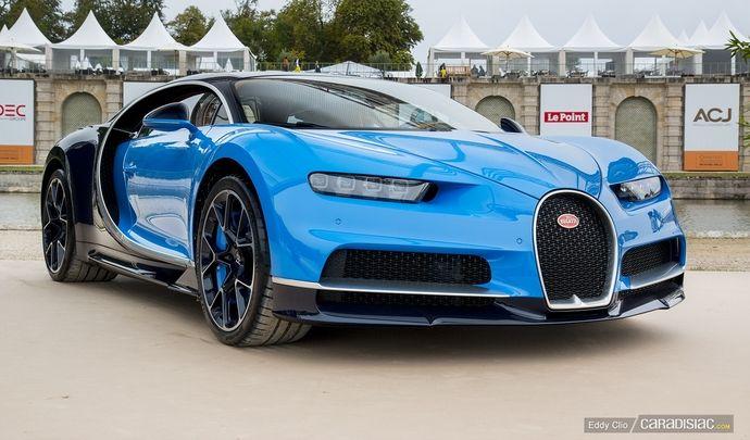 Photos du jour : Bugatti Chiron (Concours d'Elegance de Chantilly)