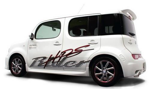 Tokyo Auto Salon 2009 : Nissan dynamise son Cube