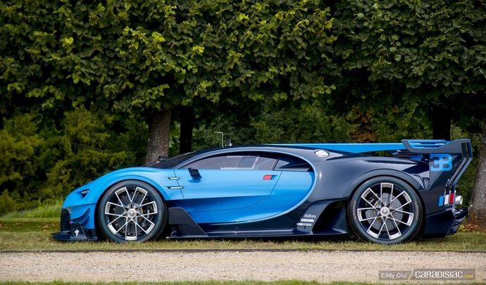 Photos du jour : Bugatti Vision Gran Turismo (Concours d'Elegance de Chantilly)