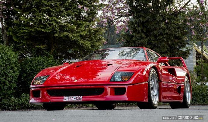 Photos du jour : Ferrari F40 (Spa Classic)