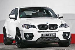 BMW X6  MCCHIP, 340 chevaux fumants (noir)
