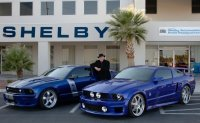 Shelby CS 6 Mustang et Shelby WCC Mustang Limited Edition