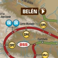 Dakar - étape 10 : le parcours du jour