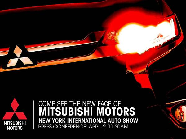 Mitsubishi annonce son Outlander restylé pour New York
